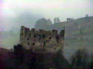 Burned out Castle North of Sargans