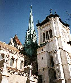 Cathedrale St-Piere, Old Geneve