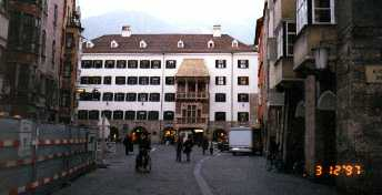Innsbruck - the Golden Dachl