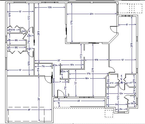 House Plans and Design Modern House Plans With Dimensions