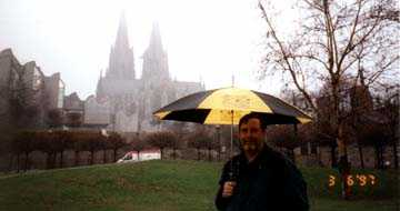 On the Rhine River walk - Cologne