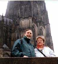 Rick & Lin at the Cathedral of Cologne