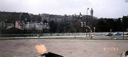 Luxembourg - from eternal flame looking west